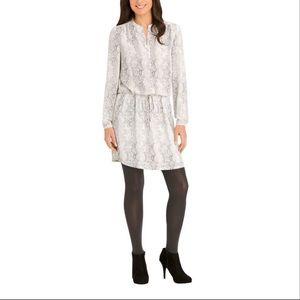 Hilary Radley Snake Print Tunic Dress XL